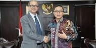 Ketua MPR Zulkifli Hasan Menerima Kunjungan Duta Besar Maroko untuk Indonesia.