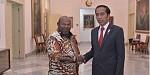 Frederikus Gebze, Bupati Merauke Sampaikan Hal Strategis ke Presiden Jokowi