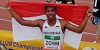 Lalu Muhammad Zohri pelari tercepat nomor lari 100 meter